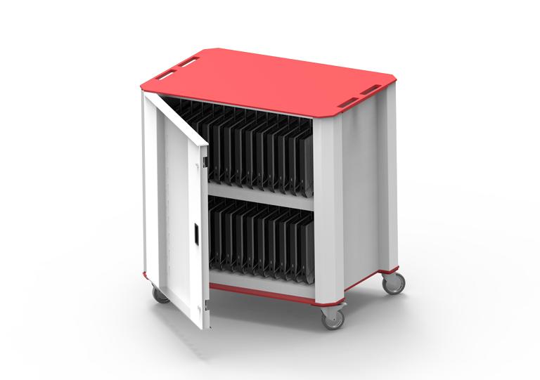 PlasCart30-Red-Open