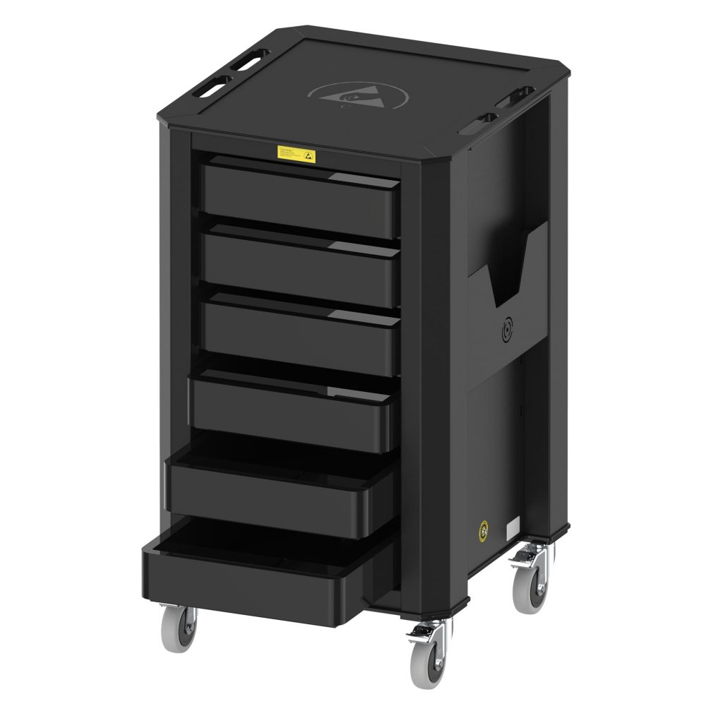 ESD Wez Container Trolley
